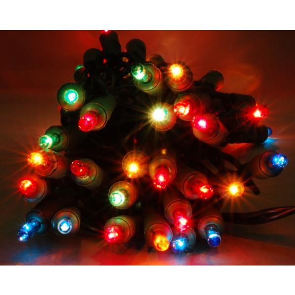 NOMA 140 MULTI-COLOURED 21 METRE INDOOR FAIRY LIGHTS CHRISTMAS XMAS TREE