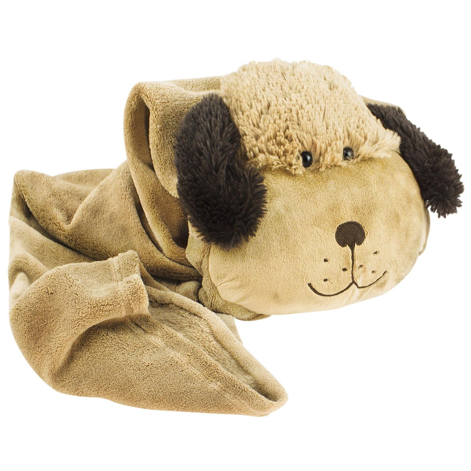 Animal Pillow Blanket : Official Pillow Pet Puppy Dog Rollup Throw Childrens/Kids Cushion/Pillow/Blanket eBay