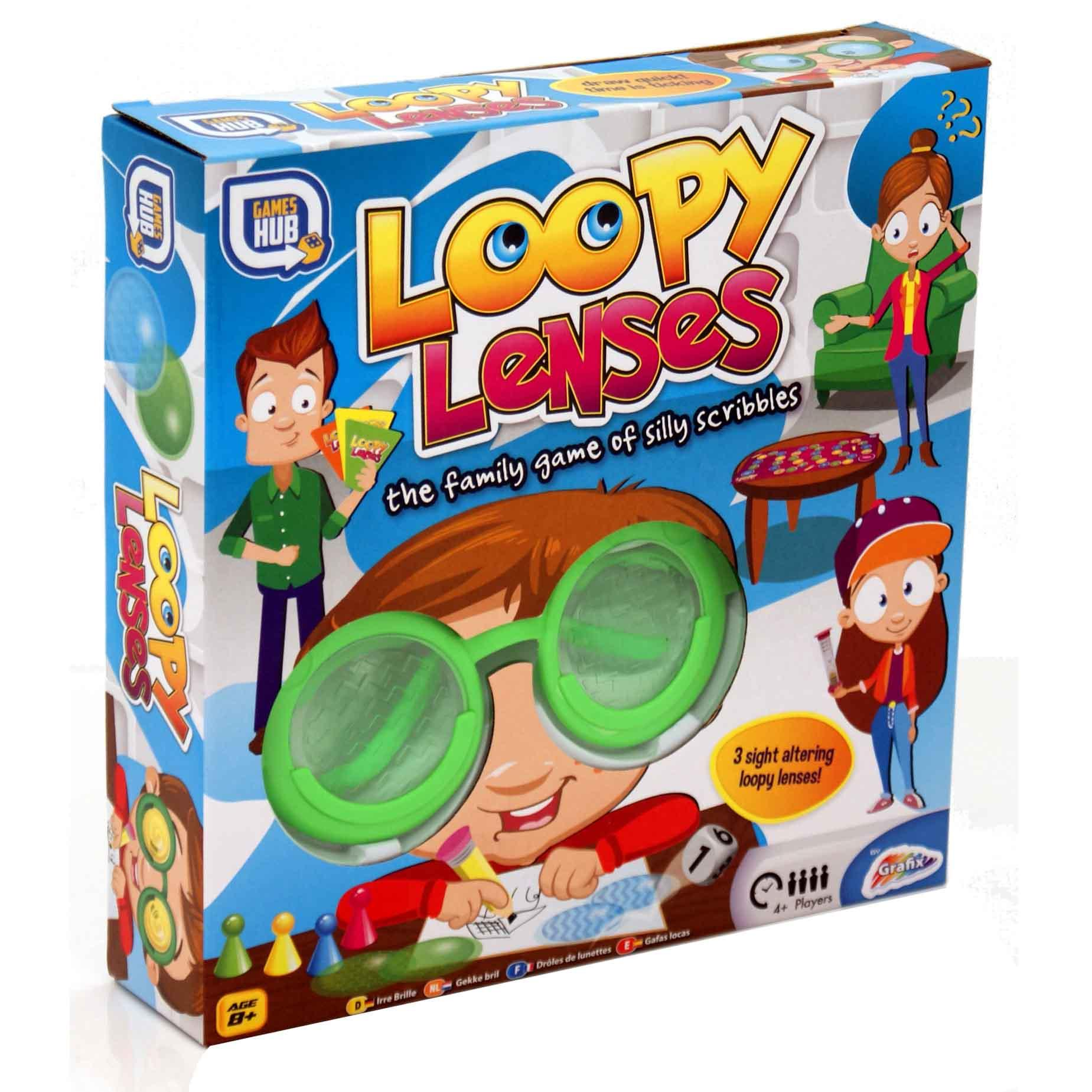 Loopy Lenses Googly Eyes Silly Glasses Fun Family Kids ...