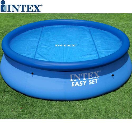 Intex Easy Fast Set Or Frame 12ft 12 39 Foot Solar Swimming Paddling Pool Cover
