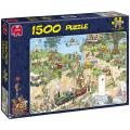Jan Van Haasteren Golf Course 1500 Piece Puzzle