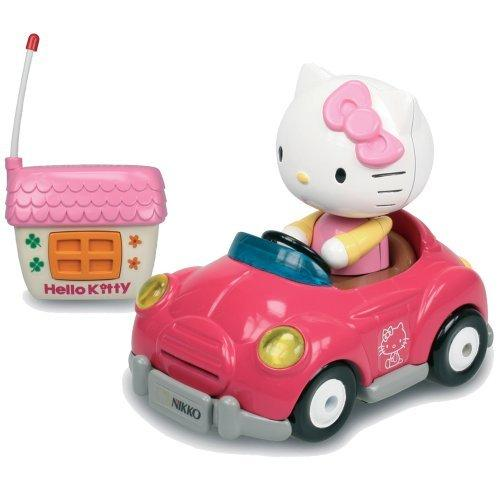 Hello Kitty Toy Car For Girls : New nikko hello kitty first light up girls radio remote
