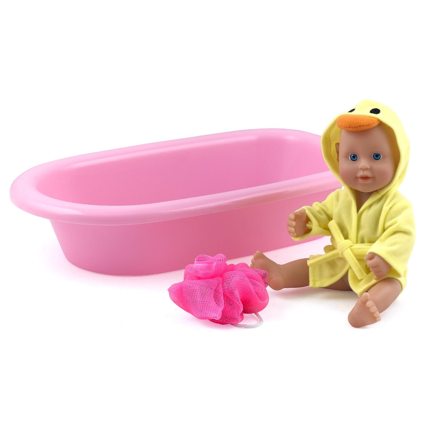 how to make a doll bath tub doll crafts 18 inch doll bathtub with shower fits. Black Bedroom Furniture Sets. Home Design Ideas