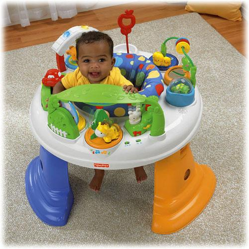fisher price twirlin whirlin entertainer baby activity