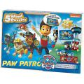 Paw Patrol 5 Wooden Puzzles