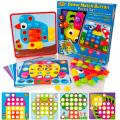 Learning Minds Colour Match Button Set