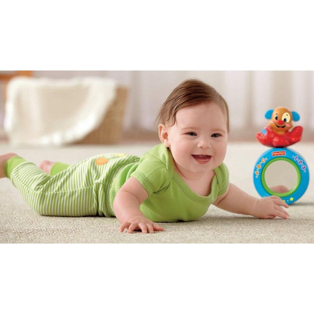 New Fisher Price Crawl Along Musical Ball Baby Toy Ebay