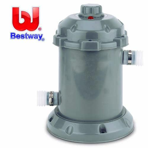 Bestway electric pool heater 8 39 ft 10 39 ft 12 39 ft 15 39 ft foot paddling swimming pools ebay for Electric swimming pool heaters